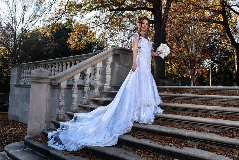 Gown with Train