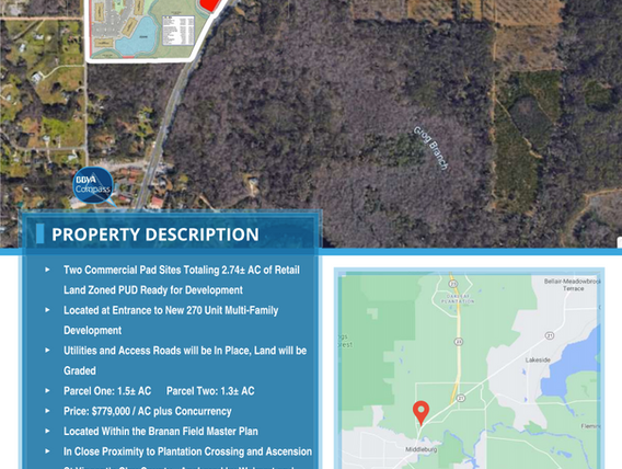Blanding Available Outparcels