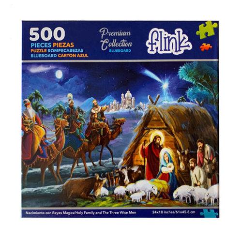 Rompecabezas Nacimiento Navidad 500 piezas