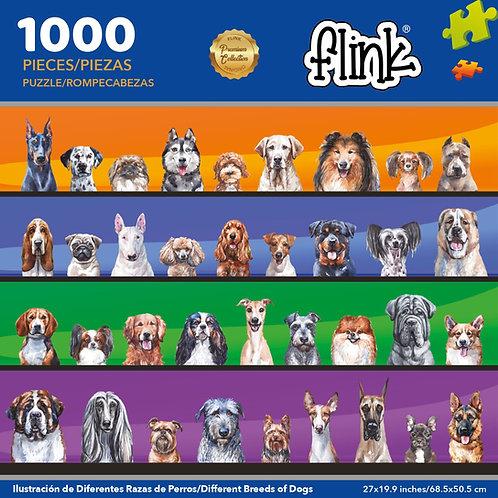 Ilustración diferentes razas de perros