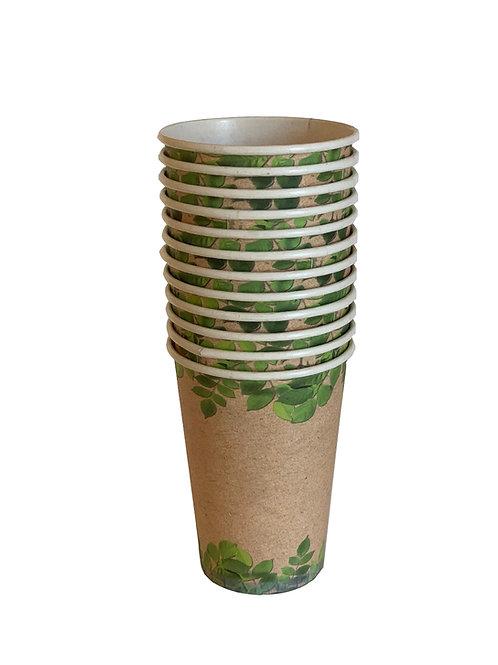 Vasos biodegradables 12oz 12pzas