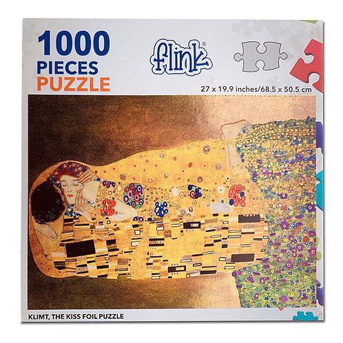 El Beso, Klimt (Metalizado)