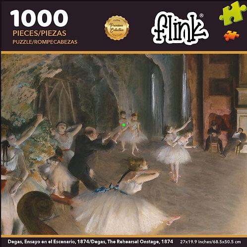 Degas, Ensayo en el Escenario