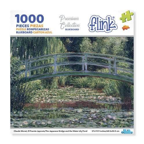 El Puente Japonés, Claude Monet