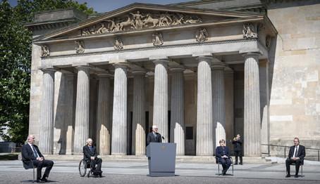 シュタインマイヤー・ドイツ連邦大統領の第二次世界大戦終戦 75 周年演説