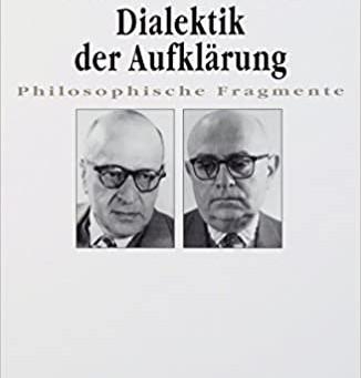 【書籍紹介】Dialektik der Aufklärung(啓蒙の弁証法)