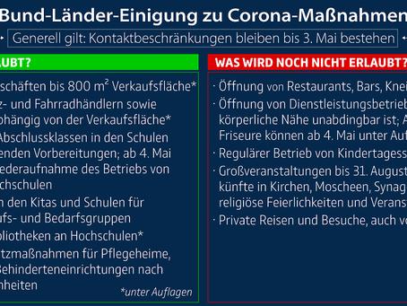 ドイツ・コロナロックダウン段階的解除