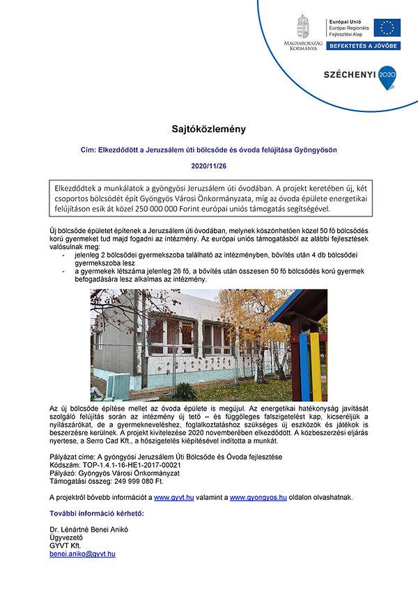 201126 JBO projektindító sajtóközlemény