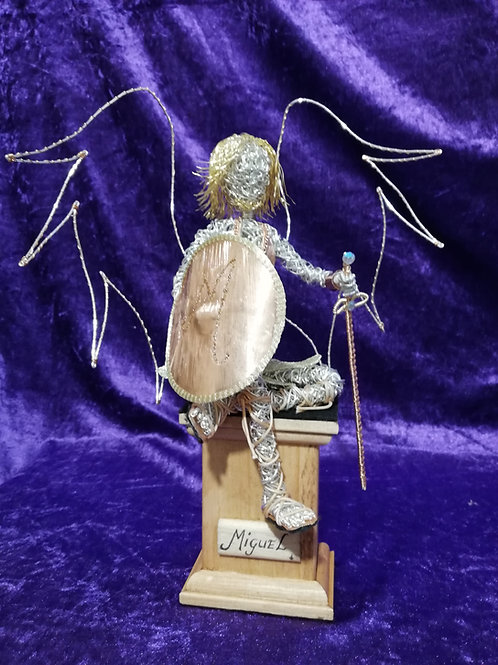 Miguel - Sil Plated wire ornament - Avebury Faerie