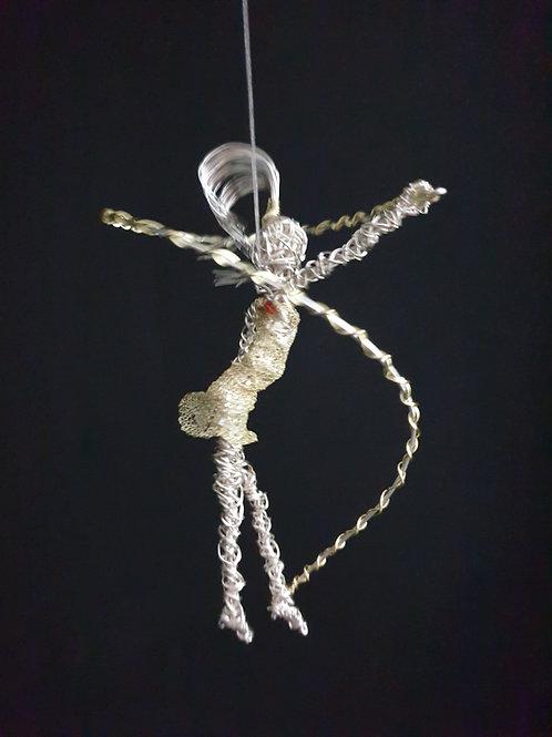 Carrie - Dancing Girl Ornament - Avebury Faeries