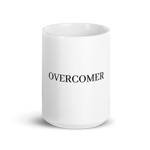 OVERCOMER Mug