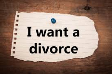 I Want A Divorce