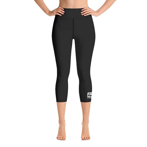 FreeTHEM Yoga Capri Leggings