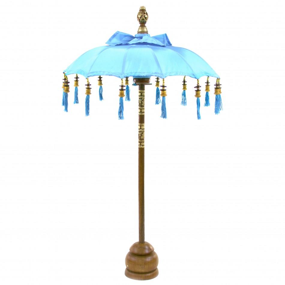 TABLE MOROCCAN PARASOL (Blue) #CP5