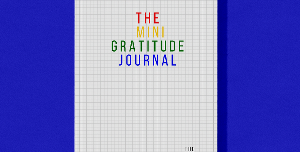 The Mini Gratitude Journal - Kids Edition