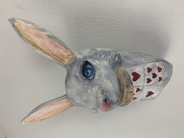 WHITE RABBIT - SOLD