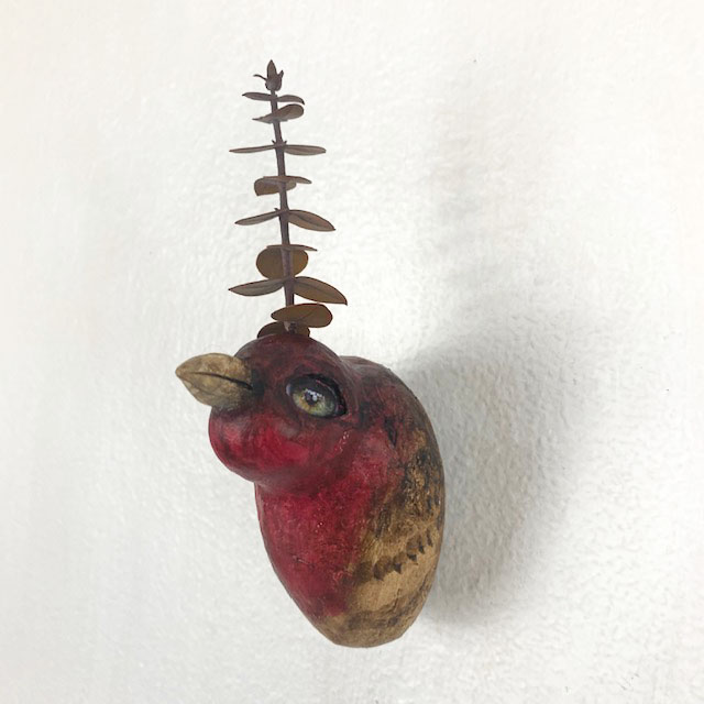 RED HEADED HOUSE WREN - SOLD