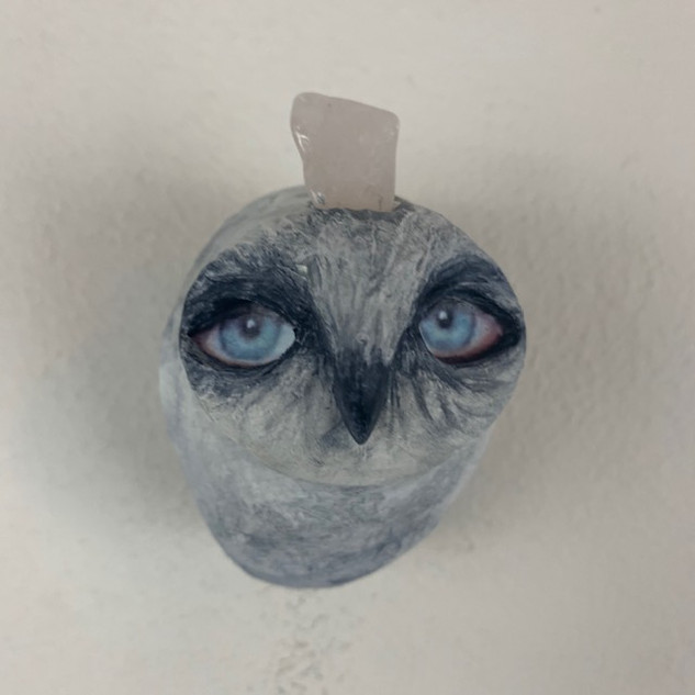CRYSTAL OWL - SOLD
