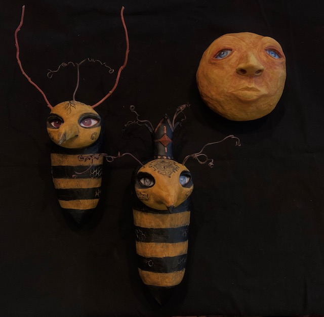 QUEEN BEE & DRONE - SOLD