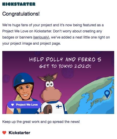 Kickstarter Campaign