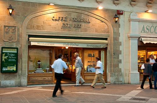Cafe Cordina Restaurant in Malta