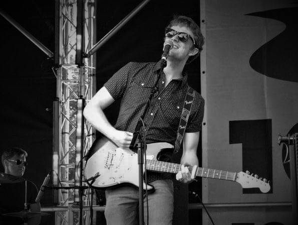 Sam at Ipswich Music Day