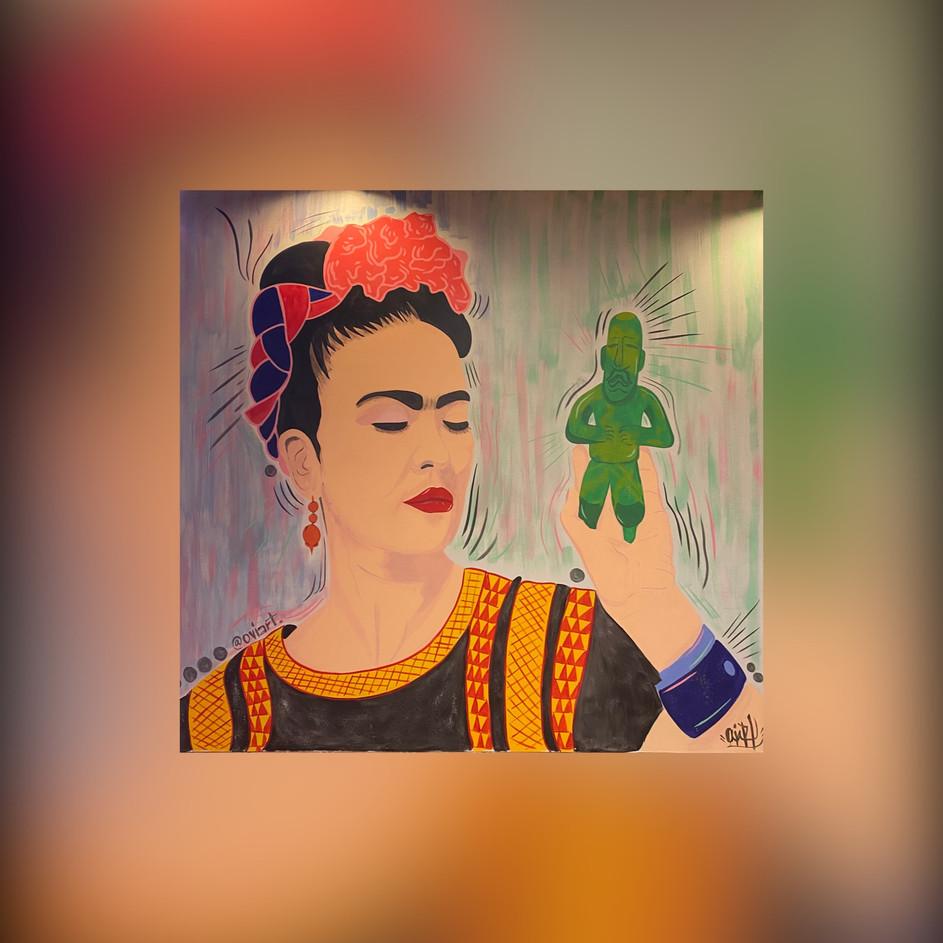 Monterrey of Clemson Frida Kahlo