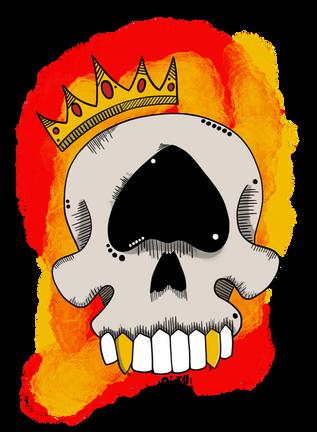 OviArt King Skull
