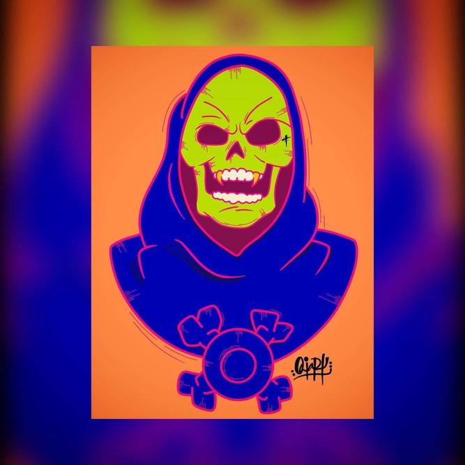 OviArt Skeletor