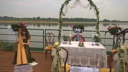 wedding river location