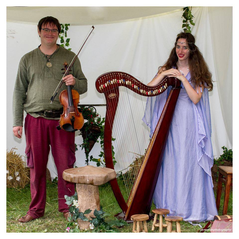 Duo Harp and Fiddle