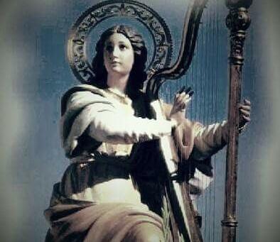 Sainte Cécile patronne des musiciens/Santa Cecilia Patronna dei musicisti