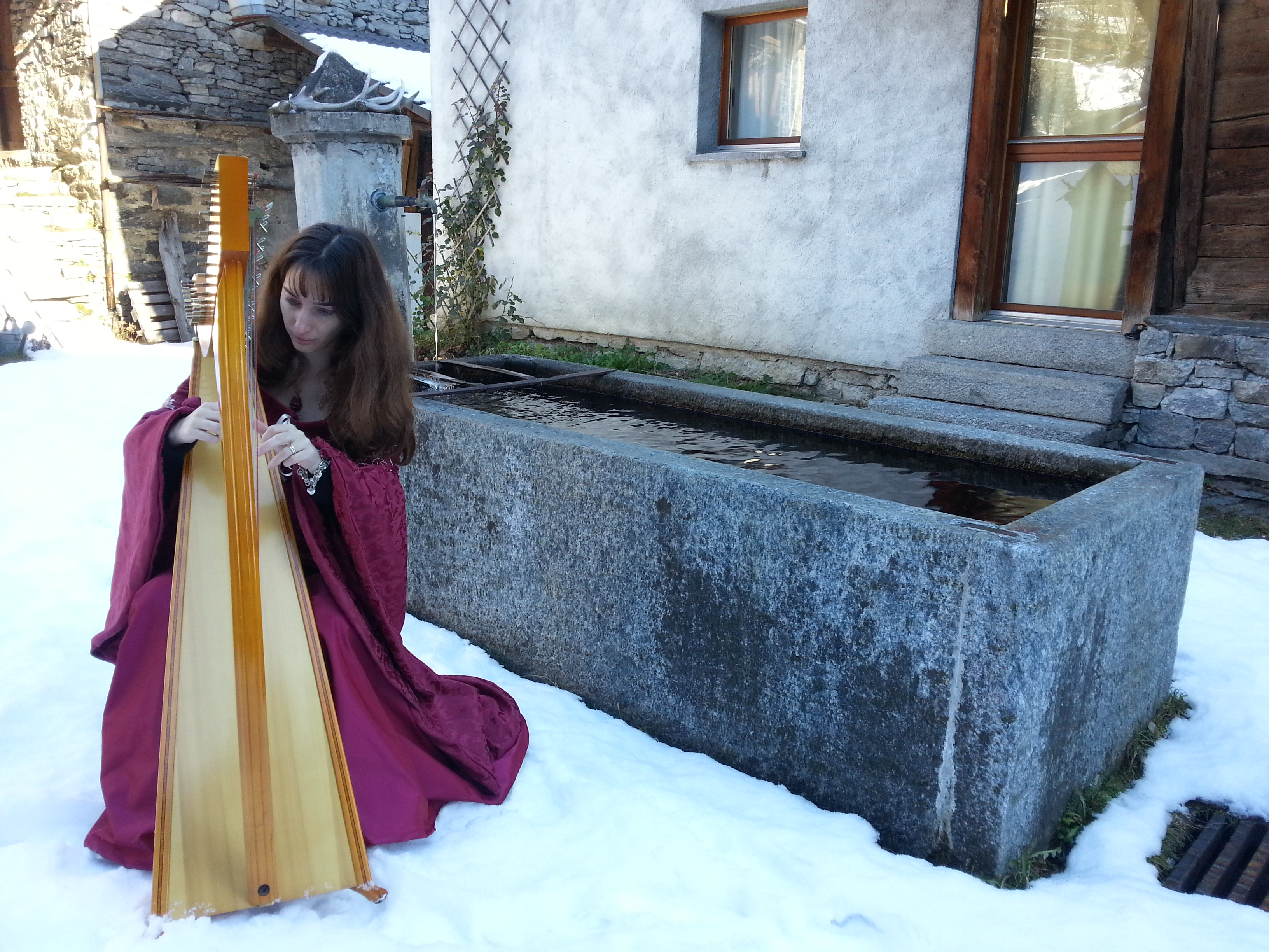 Anima Keltia Harp and snow