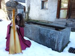 Anima Keltia Harp and snow