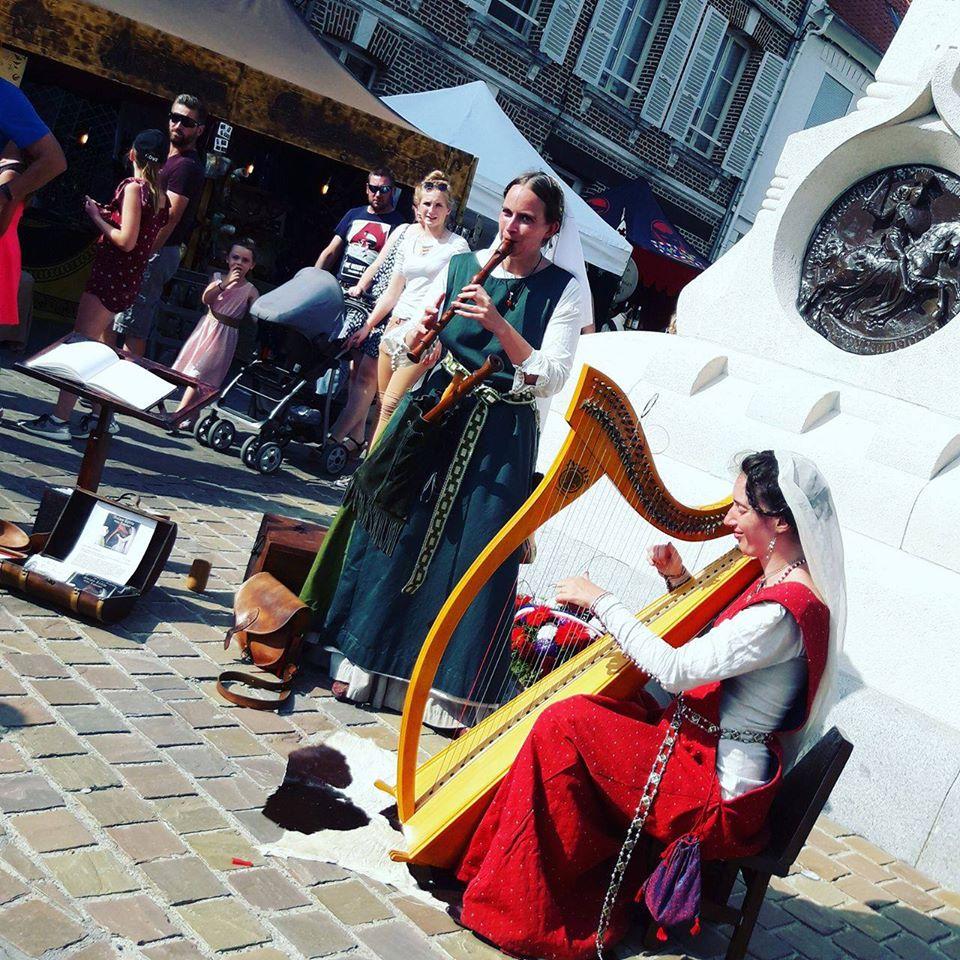 Duo Flute et Harpe Crecy