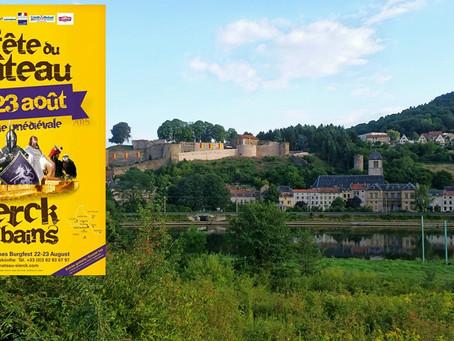 Le chateau de Sierck-les-Bains un peu d'histoire...un po di storia....