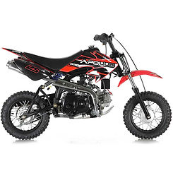 Dirt bike with training wheels for sale
