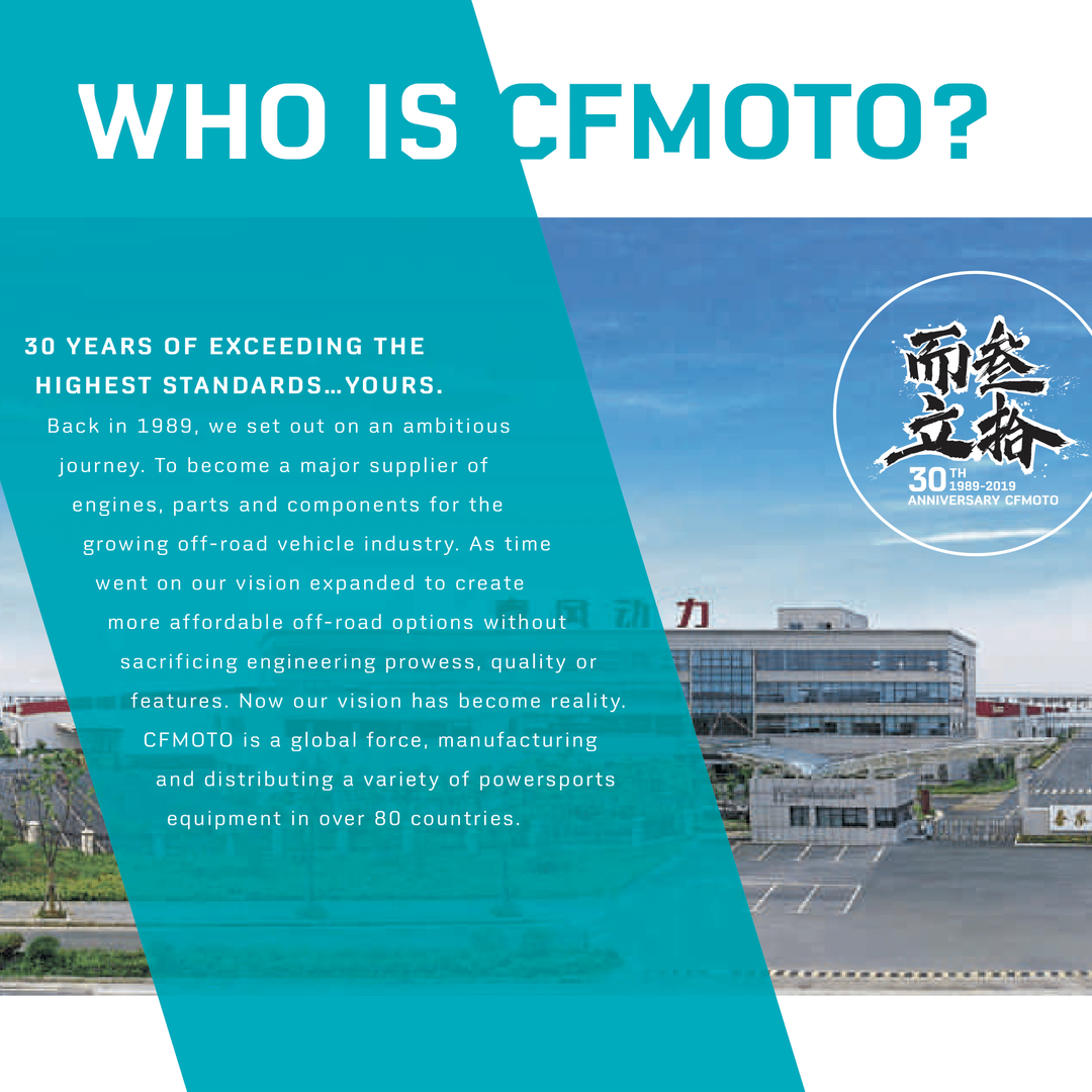 Who is CFMOTO