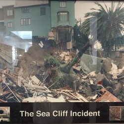 Sea Cliff Sinkhole Emergency