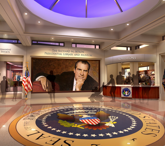 01_Nixon_Library_Annenberg_Entrance_Cour