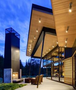 Chalet contemporain 400 m2