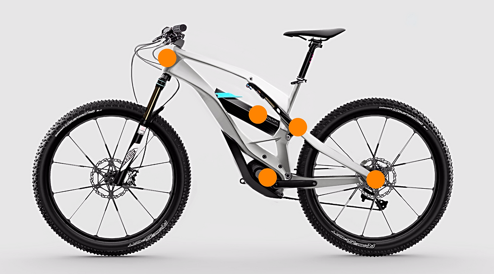 Revolt e-mountain bike