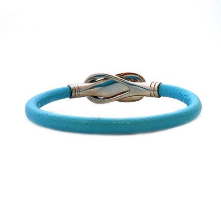 Women's Reflections Turquoise Leather Bracelet - Large