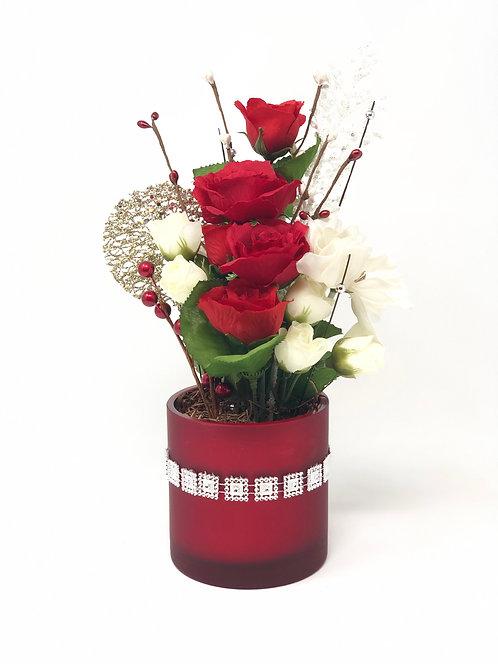 Red Rose Floral