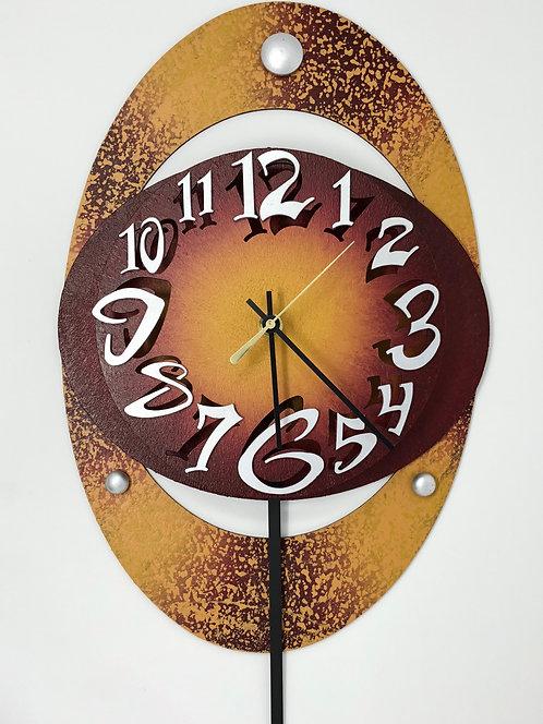 Large Oval Clock