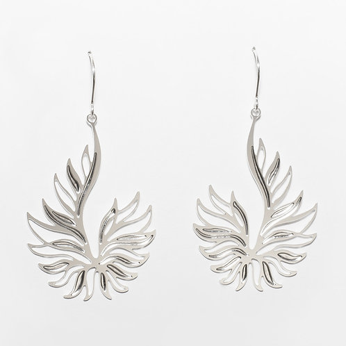 Ascend Earrings (Silver Plated)