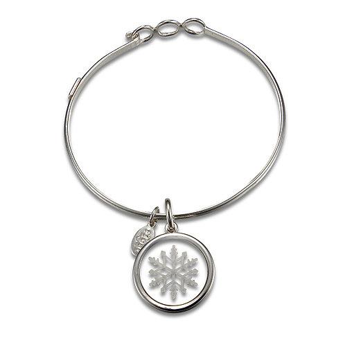 Float Snowflake Bracelet