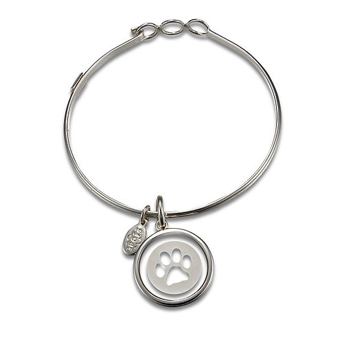 Float Dog Paw Bracelet