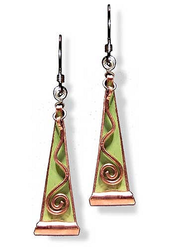 Falling Water Earrings