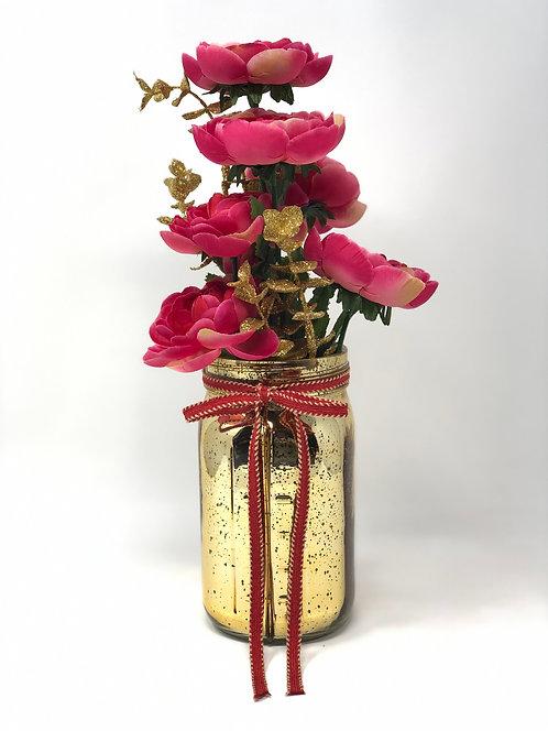 Hot Pink Floral